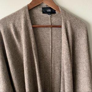 Line | blanket wrap wool cashmere blend